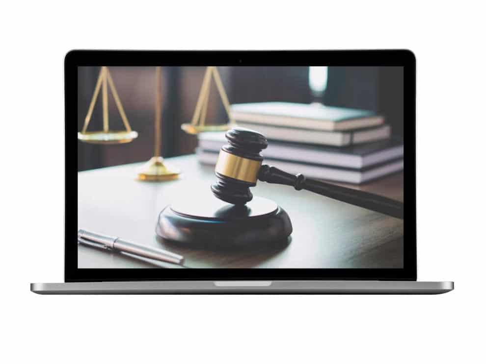 Macbook com Foto Juríca